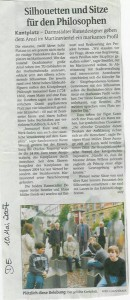Kantplatzeinweihung Pressebericht