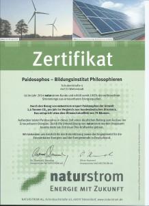 zertifikat naturstrom